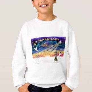 Xmas Sunrise - Norwegian Elkhound Tee Shirt