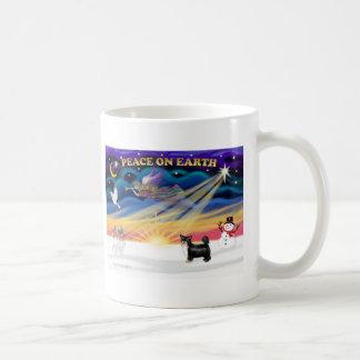 Xmas Sunrise - Puff Chinese Crested (BT) Coffee Mug