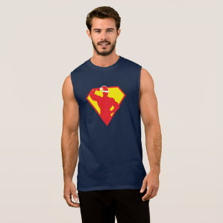 Xmas Super Fit Man Sleeveless Shirt