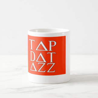 Xmas Tap Dat Christmas Holiday Greek letters funny Coffee Mug