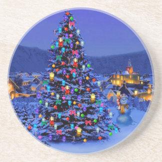 xmas tree coaster