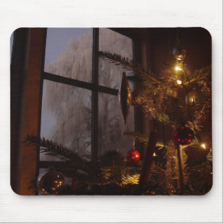 Xmas tree mouse pad