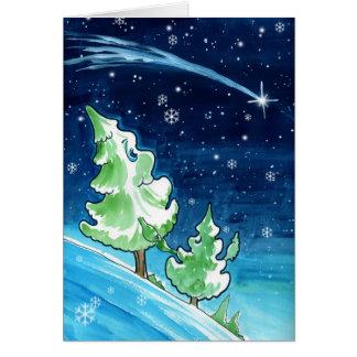 Xmas Trees Card