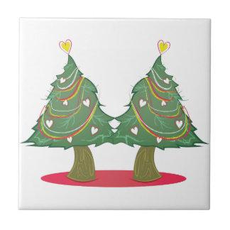 Xmas Trees Ceramic Tiles