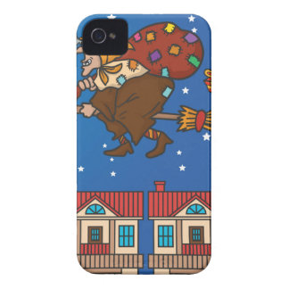 xmas witch Befana iPhone 4 Case