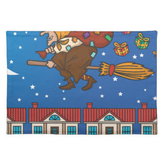 xmas witch Befana Placemat