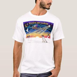 XmasSunrise-Jack Russell Terrier5 T-Shirt