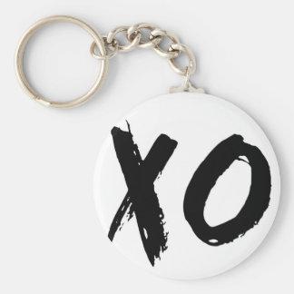 XO Brush Minimal Keychain