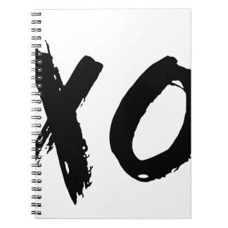 XO Brush Minimal Notebooks