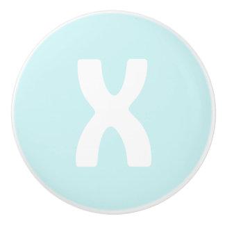 XO Ceramic Knob (X)- Choose your color!