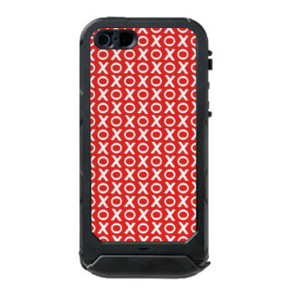 XO Kisses and Hugs Pattern Illustration red white Incipio ATLAS ID™ iPhone 5 Case
