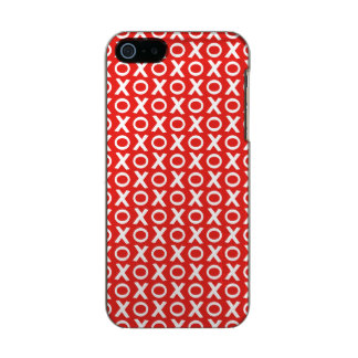 XO Kisses and Hugs Pattern Illustration red white Incipio Feather® Shine iPhone 5 Case
