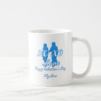 XO XO CLASSIC WHITE COFFEE MUG