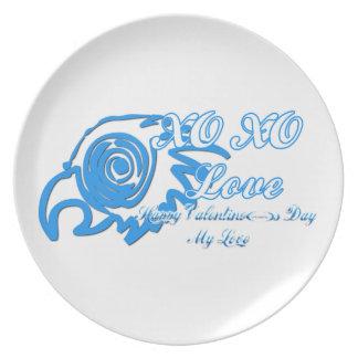 XO XO DINNER PLATES
