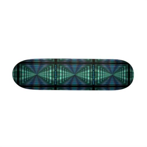 Xoandre's Perspective Board Skateboard Deck