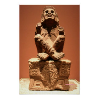 Xochipilli, Aztec God of Music Poster