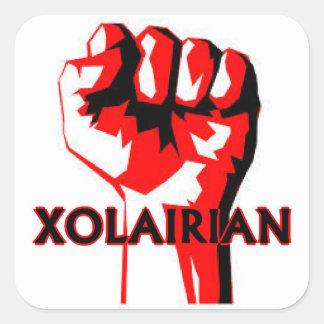 Xolairian Square Sticker