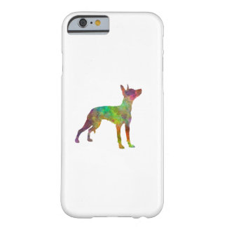 Xoloitzcuintle in watercolor 2 barely there iPhone 6 case