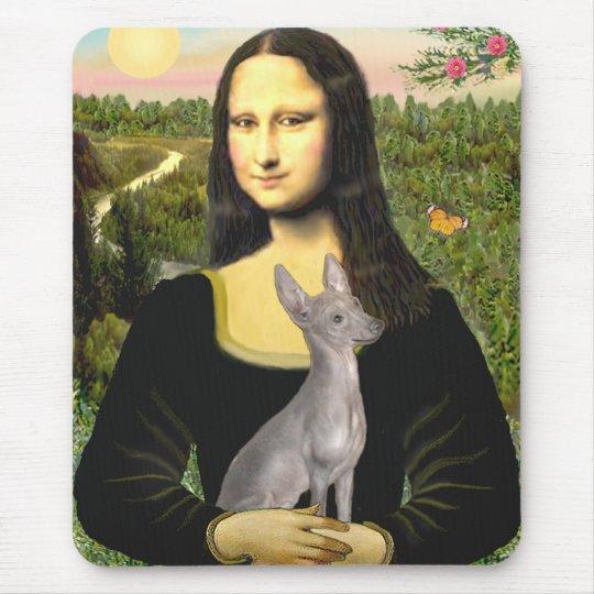 Xoloitzcuintle (Xolo) #2 - Mona Lisa Mouse Pad