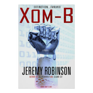 Xom-B - The Novel Cover...as a poster! Poster