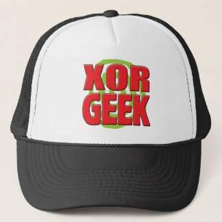 XOR Geek Trucker Hat