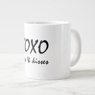 XOX HUGS AND KISS LARGE COFFEE MUG
