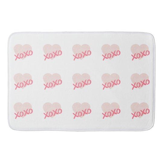 XOXO BATH MAT
