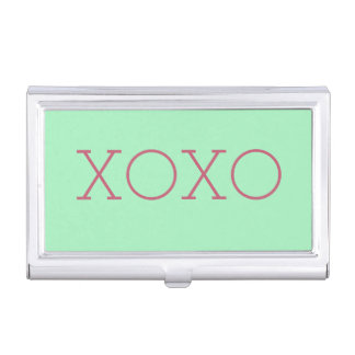 XOXO Business Card Holder
