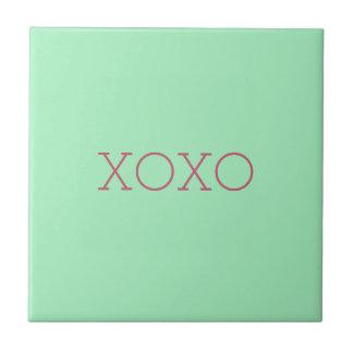 XOXO Ceramic Tile