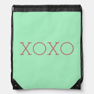 XOXO Drawstring Backpack