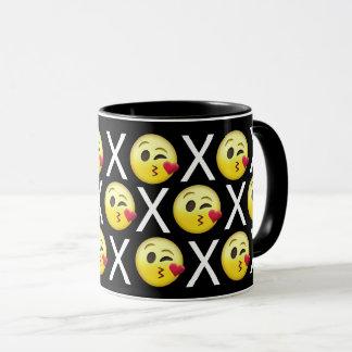 """""""XOXO"""" Emojis Mug"""