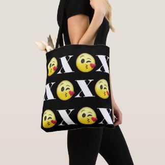"""XOXO"" Emojis Tote Bag"