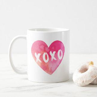 XoXo Heart Coffee Mug
