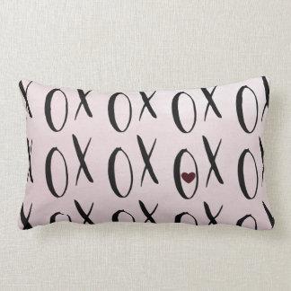 XOXO Heart Lumbar Pillow
