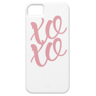 xoxo iPhone 5 covers
