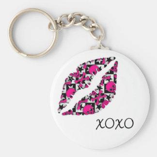 XOXO Kiss Keychain