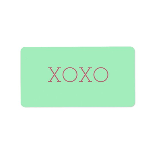 XOXO Labels
