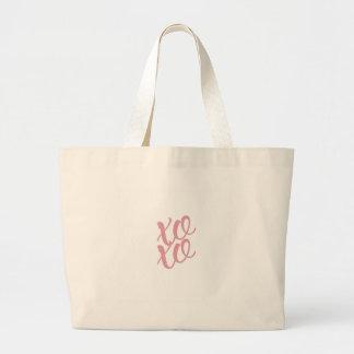 xoxo large tote bag