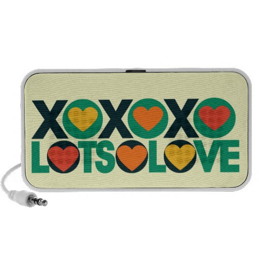 XOXO Lots of Love iPhone Speakers