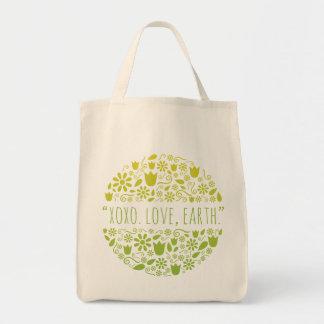 """XOXO. Love, Earth."" Happy Earth Reusable Grocery"
