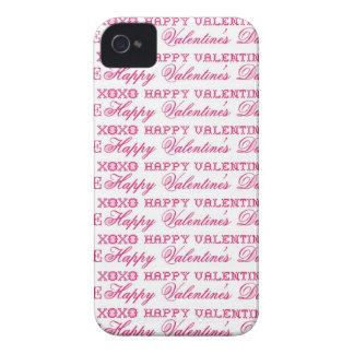 XOXO Love Happy Valentine's Day Pink Red Gifts iPhone 4 Cases