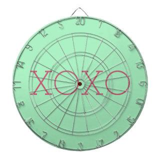 XOXO Metal Cage Dartboard