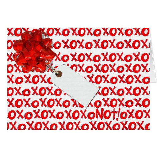 XOXO NOT GREETING CARDS
