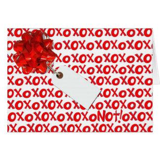 XOXO NOT CARD