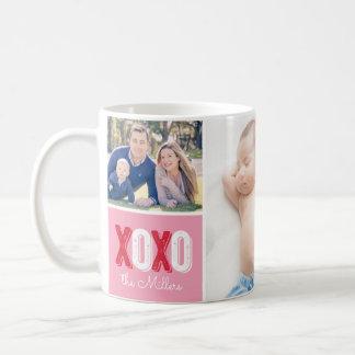 XOXO Photo Collage Coffee Mug