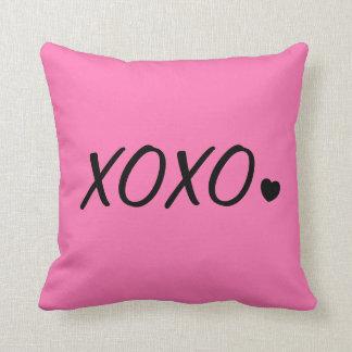 XOXO pillow. Throw Pillow