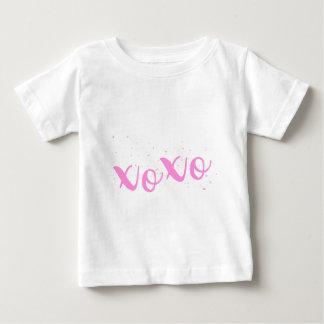 xoxo-Pink Trendy Baby T-Shirt