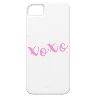 xoxo-Pink Trendy Case For The iPhone 5