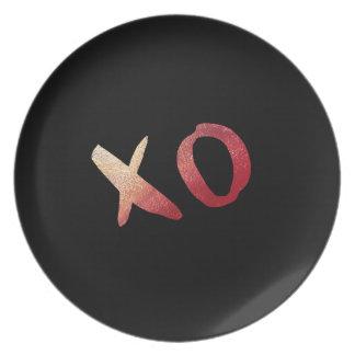 XOXO PLATE
