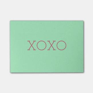 XOXO Post-it® Notes
